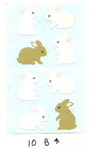 Mrs Grossman's Small Bunnies Sticker #10B