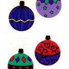 Mrs Grossman's Christmas Ornaments Sticker #23A