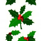 Mrs Grossman's Christmas Holly Stickers #24D