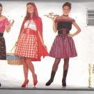 Misses Adult Gypsy Red Riding Hood Serving Wench Costumes Pattern Butterick 6294 All Sizes Uncut
