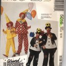 Boys & Girls Grand Illusions Clown Costumes Pattern McCall's 5016 Size 8, 10 Uncut