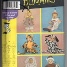 Simplicity Toddler's Costume Sewing Patterns for Dummies 4465 Size A Uncut