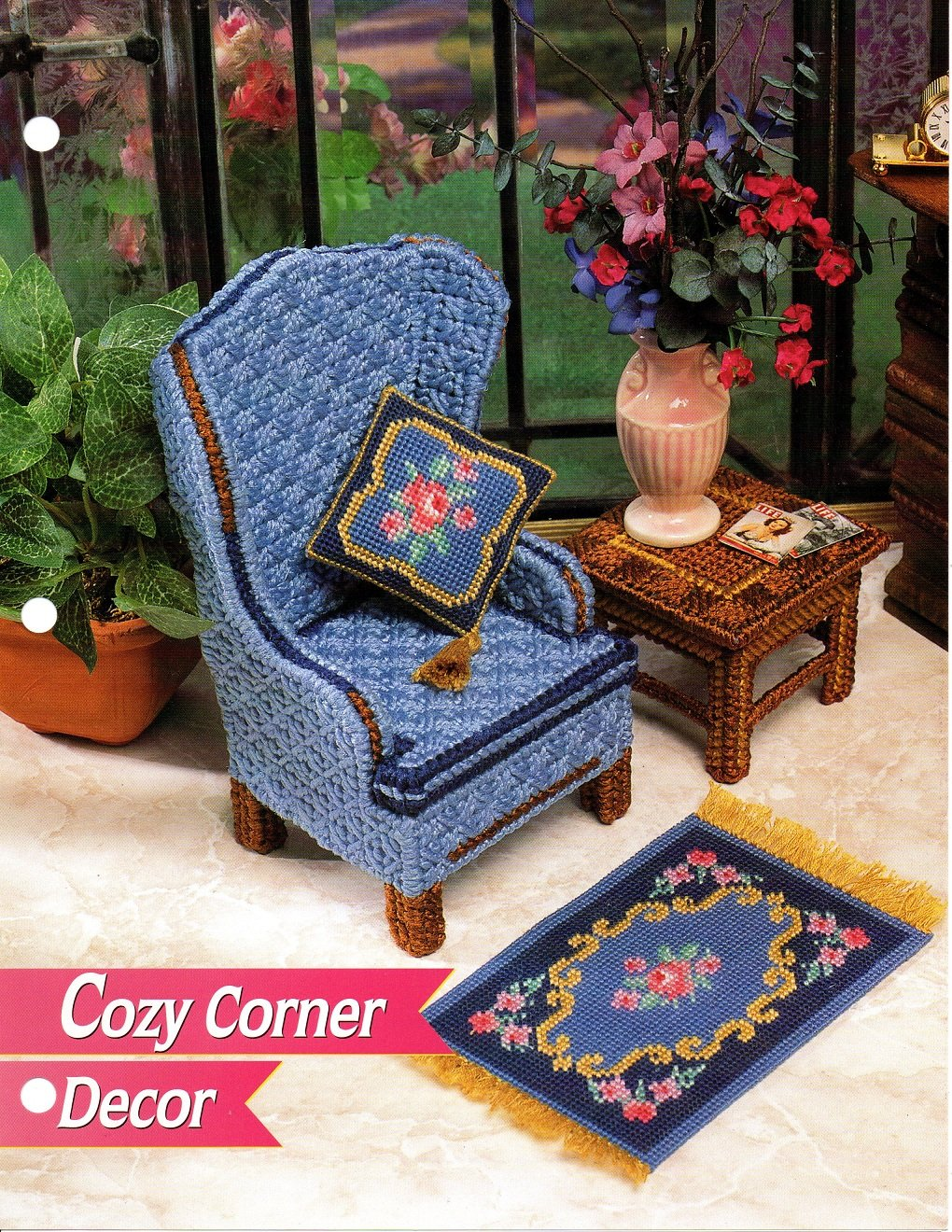 Annie S Fashion Doll Cozy Corner Decor Patterns Annie S
