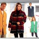 Butterick 3161 Unisex Jacket & Vest Pattern - Size (XS, S, M) - Uncut