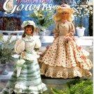 Crochet Victorian Fashion Doll Gowns - Annie's Attic 879601