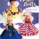 Crochet Angel Dolls - American School of Needlework Crochet Book 1215