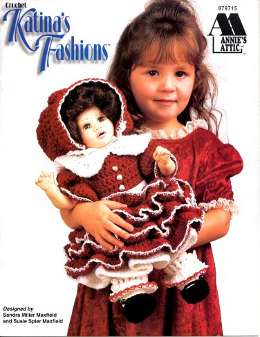 Crochet Katina's Fashions Patterns - Annie's Attic 879715