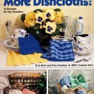 More Dishcloths 8 to Knit and 8 to Crochet Patterns Leisure Arts Leaflets 2141
