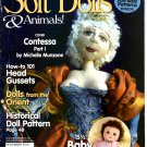 Soft Dolls & Animals! November 2010 Dolls-Bears-100's of Tips-Hints-Products-Great Ideas magazine