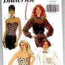 Butterick 6545 Misses' Bustier & Shirt Pattern Size 12-14-16 Uncut