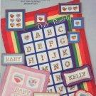 I Love Rainbows Cross Stitch Leaflet - Burdett Publications DB-68