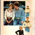 Simplicity 7917 Men's Shirt with Yoke Interest Pattern - Size Med 38 - 40 - Uncut