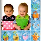 Simplicity 2468 Baby Bib Patterns - Uncut