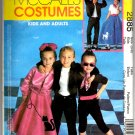 Kid's 50's Costumes Pattern McCall's 2885 Kids Size (3-8) Uncut