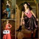 Simplicity Dancehall Costume Cancan Pattern 2851 Size RR 14 16 18 20 Uncut