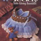 Annie's Attic Crochet Teddy Tote-Along Bassinet Pattern 301T
