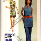 """Simplicity 9410 Misses' Super Jiffy Mini-Dress & Pants Pattern - Size 16 Bust 38"""" Waist 29"""" - Uncut"""