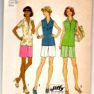 "Simplicity 6937 Misses' & Womans' Jiffy Top & Shorts Pattern - Size 14 Bust 36"" - Uncut"