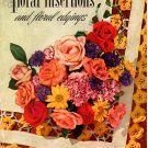 J&P Coats Book No. 263 Floral Insertions and Floral Edgings - Vintage Pattern Book
