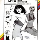 Stretch & Sew 1340 Two-Way Bikini and Swimsuit Pattern - Uncut