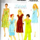 Butterick B5196 Fast & Easy Misses' Maternity Top, Dress, Shorts & Pants Pattern Sz 8-10-12-14 Uncut