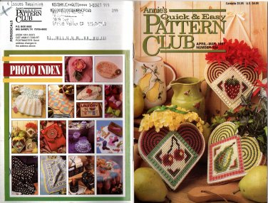 Annie's Quick & Easy Patterns Club April/May 1997 Number 107 Magazine