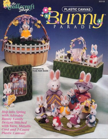 Plastic Canvas Bunny Parade Patterns The Needlecraft Shop 923105