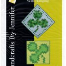 Shamrock Twist Wall Hanging by Handcrafts By Jennifer HBJ004