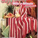 Cozy Comfort Mile-A-Minute Afghans - House of White Birches Crochet Leaflet 101069