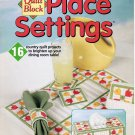 Plastic Canvas Quilt Block Place Settings House of White Birch 181104