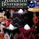 Bargello Boutiques in Plastic Canvas Tissue Box Covers Leaflet 1868 Leisure Arts
