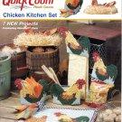 Plastic Canvas Chicken Kitchen Set Pattern Quick Count 53019