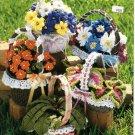 Crochet Flower Garden Pattern Book The Crochet Catalog 88H5
