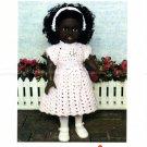 "Crochet Alicia Dress to Fit 18"" Doll No 4875N Mary Maxim"