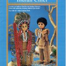 Indian Chief - Crochet Doll Book FCM329