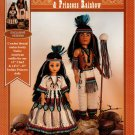 Cheif Rainmaker & Princess Rainbow - Crochet Doll Book FCM465