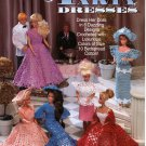 Crochet Fashion Doll Party Dresses Pattern - The Needlecraft Shop 921702