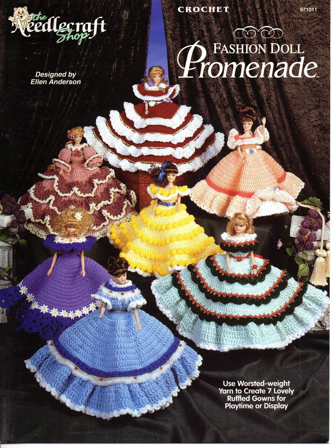 Crochet Fashion Doll Promenade Patterns - The Needlecraft Shop 971011