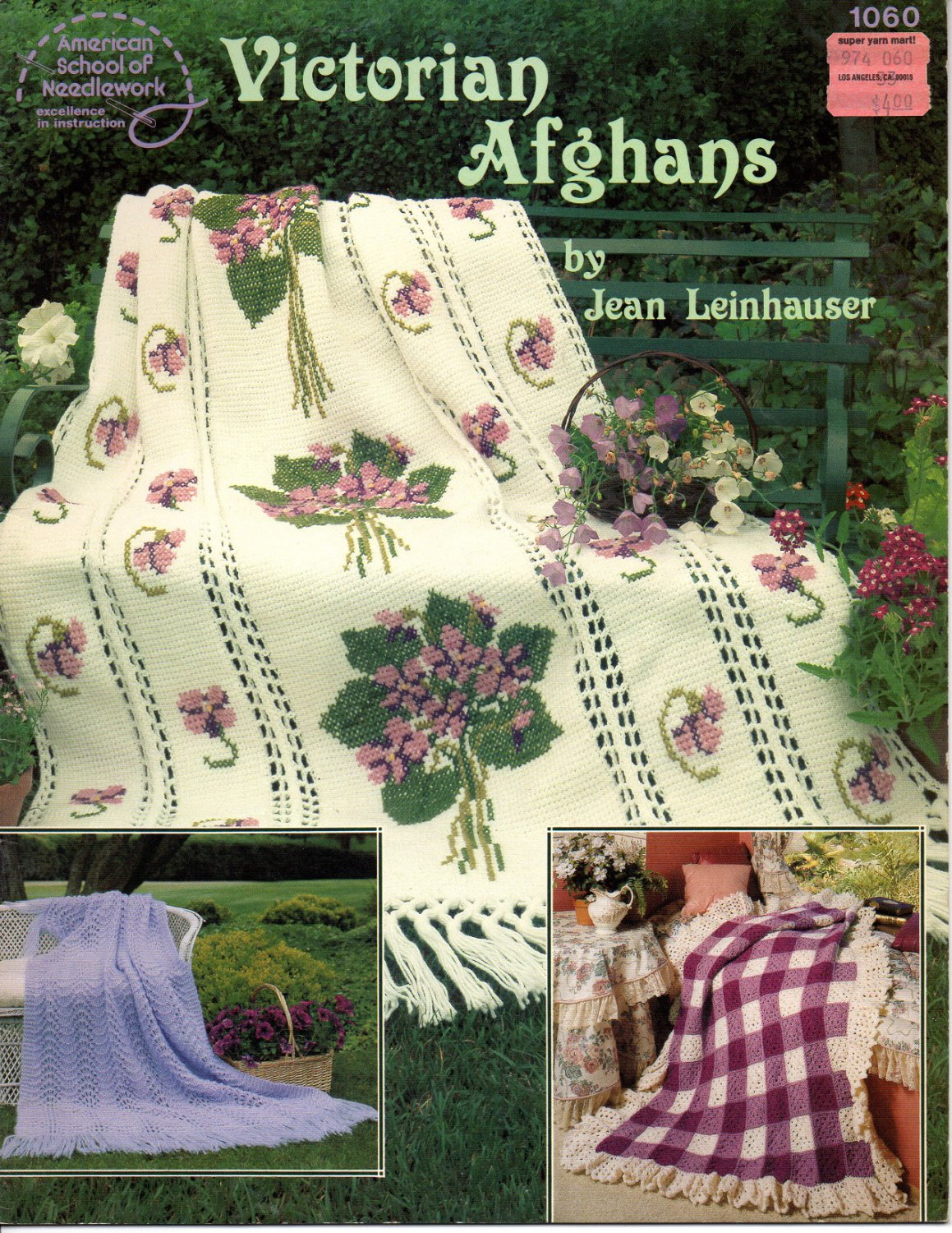 Victorian Afghans American School Of Needlework 1060