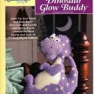 Plastic Canvas Dinosaur Glow Buddy Pattern - The Needlecraft Shop 933735