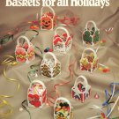 Darice Baskets for all Holidays #36562 Plastic Canvas Patterns