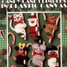 Candy Cane Climbers in Plastic Canvas - Leisure Arts Leaflet 1532