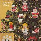 Christmas Ornaments for Plastic Canvas Patterns Leisure Arts Leaflet 256