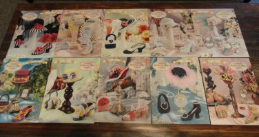 Annie's Attic Stepping Through Time Collection Crochet Patterns 16 books