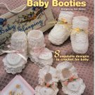 Annies Attic Crochet Heirloom Baby Booties 876504