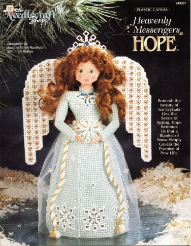 Plastic Canvas Heavenly Messengers Hope Pattern The Needlecraft Shop 943301