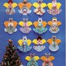 A Band of Angels Plastic Canvas Ornaments Book 154 Kappie Originals