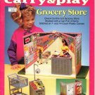 Plastic Canvas Fashion Doll Carry & Play Grocery Store - The Needlecraft Shop 933737