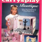 Plastic Canvas Fashion Doll Carry & Play Boutique - The Needlecraft Shop 933730