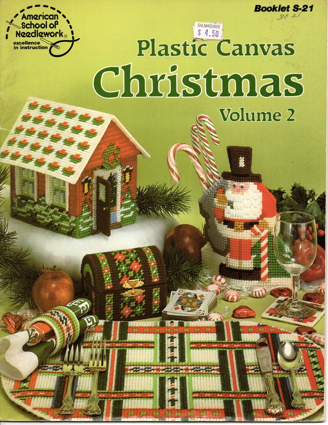 Plastic Canvas Christmas Vol 2 - American School of Needlework S-21
